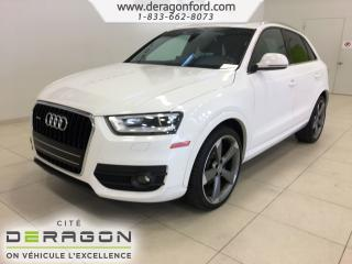 Used 2015 Audi Q3 Technik Nav Camera for sale in Cowansville, QC