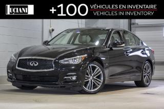 Used 2015 Infiniti Q50 2015 Infiniti Q50 AWD!! LIMITED, TECH, GPS !! for sale in Montréal, QC
