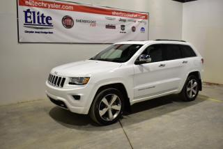 Used 2016 Jeep Grand Cherokee Overland 4x4 Diesel navigation+ for sale in Sherbrooke, QC