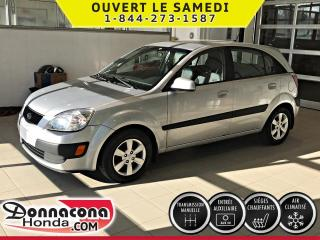 Used 2009 Kia Rio EX *SIEGES CHAUFFANTS *AIR CLIMATISÉE* for sale in Donnacona, QC