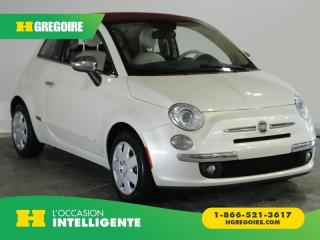 Used 2013 Fiat 500 LOUNGE A/C GR ELECT for sale in St-Léonard, QC