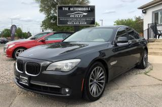 Used 2012 BMW 750i 750i xDrive AWD NAVI BACK-UP for sale in Mississauga, ON