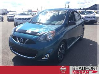 Used 2015 Nissan Micra 1.6 SR ***29 500 KM + GARANTIE PROLONGÉE for sale in Beauport, QC
