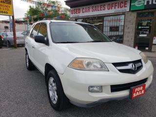 Used 2005 Acura MDX Leather/Sunroof/Heated-Seats/Alloys for sale in Scarborough, ON