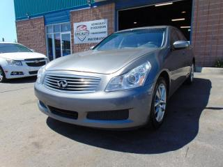Used 2009 Infiniti G37 Berline 4 portes Luxe, traction intégral for sale in St-Eustache, QC