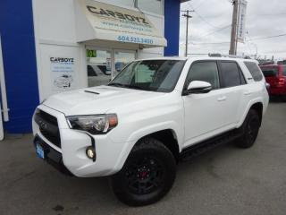 Used 2018 Toyota 4Runner TRD PRO 4x4, Nav, Leather, Sunroof, Only 9,976 Kms for sale in Langley, BC