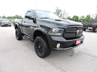 Used 2013 RAM 1500 Sport. 5.7 Hemi. 4X4. New tires. for sale in Gorrie, ON