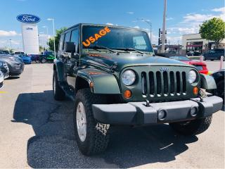 Used 2007 Jeep Wrangler Unlimited Sahara for sale in Lévis, QC