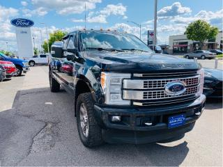 Used 2017 Ford F-250 Super Duty PLATINUM for sale in Lévis, QC