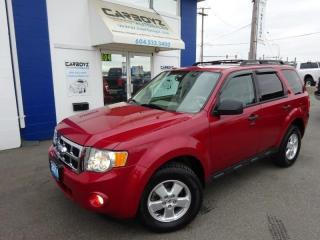 Used 2011 Ford Escape XLT 4WD, V6 Automatic, One Owner, Extra Clean!! for sale in Langley, BC