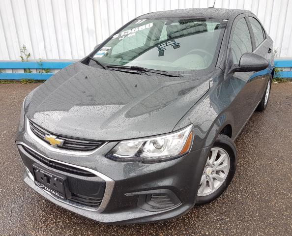 2017 Chevrolet Sonic LT *HEATED SEATS*
