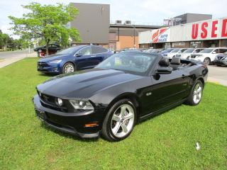Used 2012 Ford Mustang GT ~ 5.0L ~ CONVERTIBLE ~ LOW KM for sale in Toronto, ON