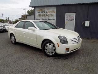 Used 2007 Cadillac CTS ***CTS,CUIR,TOIT,BAS KILOMETRAGE*** for sale in Longueuil, QC