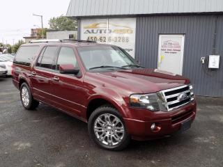 Used 2012 Ford Expedition **LIMITED MAX 4X4 ,8PLACES,CUIR,TOIT,NAV for sale in Longueuil, QC
