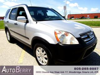 Used 2006 Honda CR-V EX - 4WD for sale in Woodbridge, ON