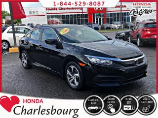Used 2016 Honda Civic LX **MANUEL**43 138 KM** for sale in Charlesbourg, QC