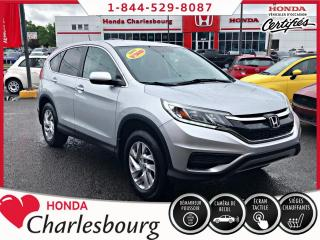 Used 2015 Honda CR-V SE AWD **UN PROPRIÉTAIRE** for sale in Charlesbourg, QC
