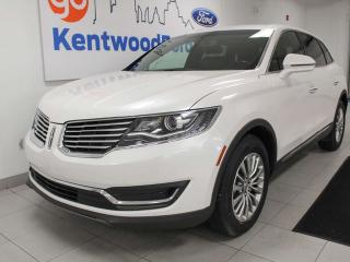 Used 2016 Lincoln MKX MKX AWD with NAV, heated power leather seats, power liftgate, back up cam for sale in Edmonton, AB