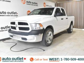 Used 2015 RAM 1500 ONE OWNER!!! ST, QUAD CAB, 4X4, POWER WINDOWS, STEERING WHEEL CONTROLS, CRUISE CONTROL, A/C, AM/FM RADIO for sale in Edmonton, AB