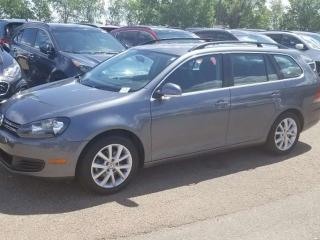 Used 2012 Volkswagen Golf Wagon COMFORTLINE; BLUETOOTH, HEATED SEATS, SUNROOF AND MORE for sale in Edmonton, AB