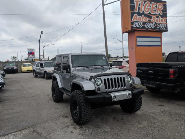 "2013 Jeep Wrangler Sahara*80KM*35"" TIRES*LIFTED*LEDs**CLEAN"
