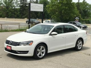 Used 2012 Volkswagen Passat 2.5L Auto Comfortline| NO Accident for sale in Cambridge, ON