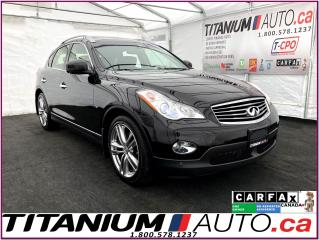 Used 2015 Infiniti QX50 AWD+GPS+360 Camera+Blind Spot+Lane Departure Preve for sale in London, ON