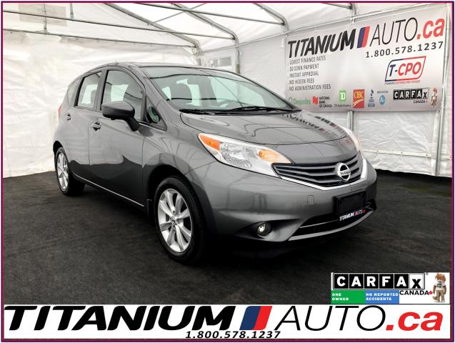 2016 Nissan Versa Note SL+GPS+360 Camera+Heated Seats+Push Button Start+