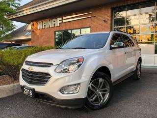 Used 2016 Chevrolet Equinox LTZ AWD Sunroof Navi Rear Cam Remote Starter Cert* for sale in Concord, ON