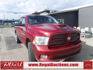 Used 2012 Dodge Ram 1500 Sport 4D Quad CAB SWB 4WD for sale in Calgary, AB