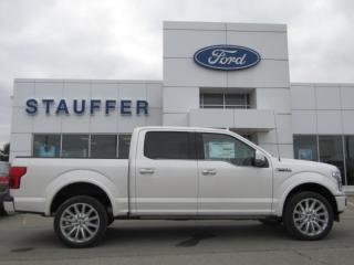 New 2019 Ford F-150 Limited  for sale in Tillsonburg, ON