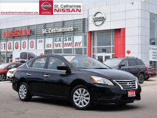 Used 2014 Nissan Sentra 2014 Nissan Sentra - 4dr Sdn Man SV for sale in St. Catharines, ON