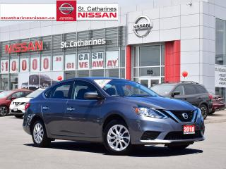 Used 2018 Nissan Sentra 2018 Nissan Sentra - SV CVT for sale in St. Catharines, ON
