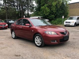 Used 2008 Mazda MAZDA3 NO ACCIDENT|AUTO|SUNROOF|ALLOY|CERTIFIED|BY APPOINTMENT for sale in Newmarket, ON