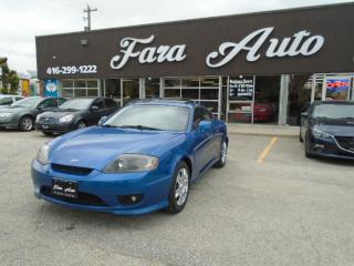 Used 2006 Hyundai Tiburon COUPE SE 2.0L for sale in Scarborough, ON