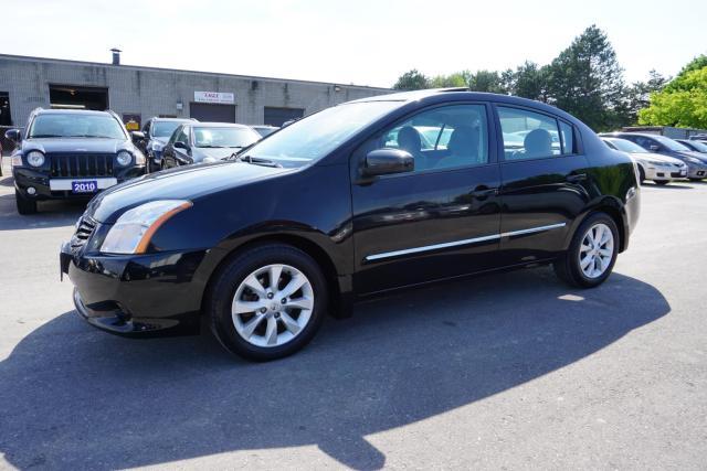 2010 Nissan Sentra AUTO SEDAN CERTIFIED 2YR WARRANTY BLUETOOTH HEATED SUNROOF CRUISE