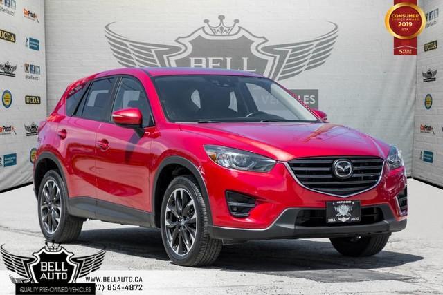 2016 Mazda CX-5 GT, AWD, NAVI, BACK-UP CAM, SUNROOF, BLINDSPOT, LANE ASSIST