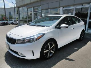 Used 2018 Kia Forte EX Luxury EX Luxury /3.69% Special Demo Financing OAC/Leather/Roof/Camera/Push start for sale in Mississauga, ON