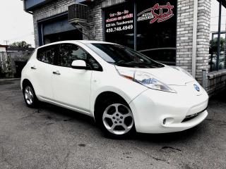 Used 2012 Nissan Leaf Hayon 4 portes SV NAVIGATION CAMERAS MAG for sale in Longueuil, QC