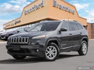 Used 2016 Jeep Cherokee North  - Bluetooth -  Fog Lamps - $178.39 B/W for sale in Brantford, ON