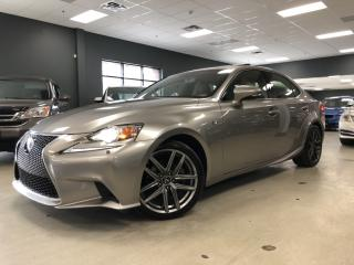 Used 2014 Lexus IS 250 AWD*F-SPORT*LEVEL3*NAVIGATION*REAR VIEW CAMERA*ONE for sale in North York, ON