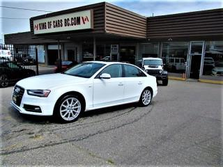 Used 2016 Audi A4 S-LINE Quattro for sale in Langley, BC