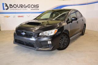 Used 2018 Subaru WRX for sale in Rawdon, QC