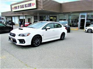 Used 2018 Subaru WRX Sport-tech for sale in Langley, BC
