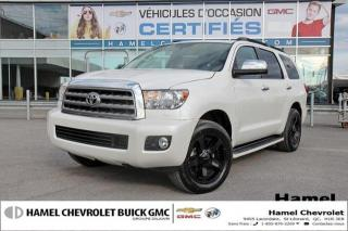 Used 2015 Toyota Sequoia Platinum for sale in St-Léonard, QC