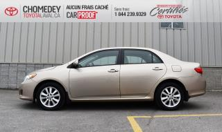Used 2009 Toyota Corolla LE for sale in Laval, QC