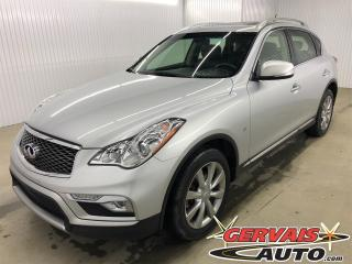Used 2016 Infiniti QX50 Bluetooth A/C sièges chauffants Cuir Toit Caméra de recul AWD MAGS for sale in Shawinigan, QC