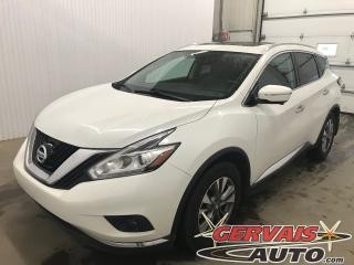Used 2015 Nissan Murano Sl Cuir Nav A/c for sale in Shawinigan, QC