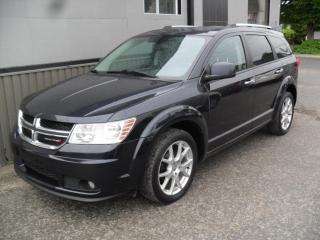 Used 2011 Dodge Journey R/T 4x4 7 Passagers + GARANTIE 3 ans inc for sale in Laval, QC