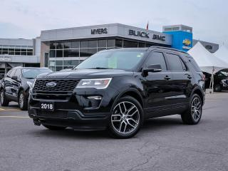 Used 2018 Ford Explorer Sport for sale in Ottawa, ON